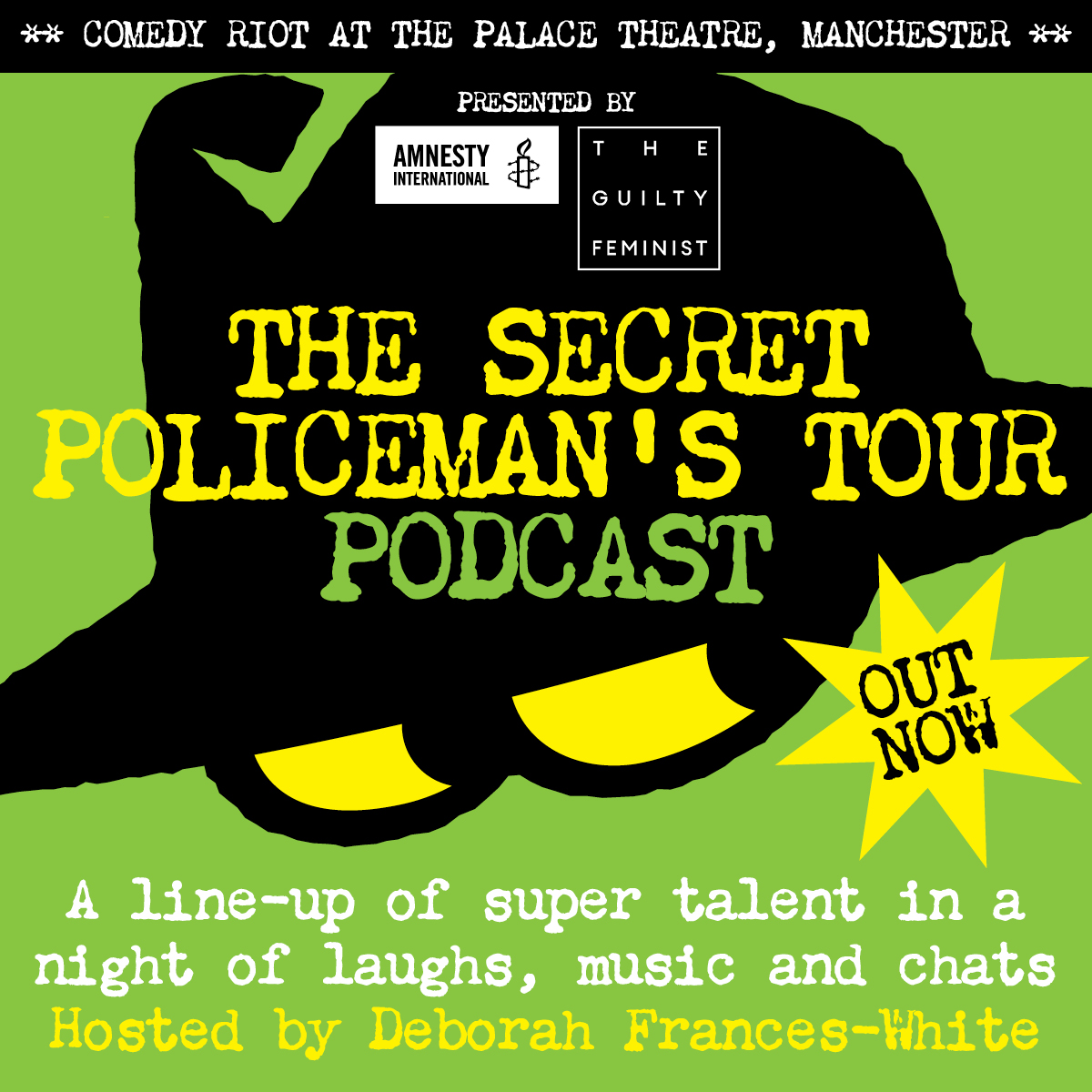 Artwork for The Secret Policeman's Tour - Manchester 2019