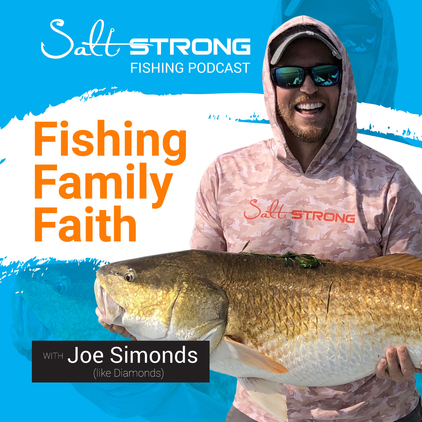 Salt Strong Fishing show art