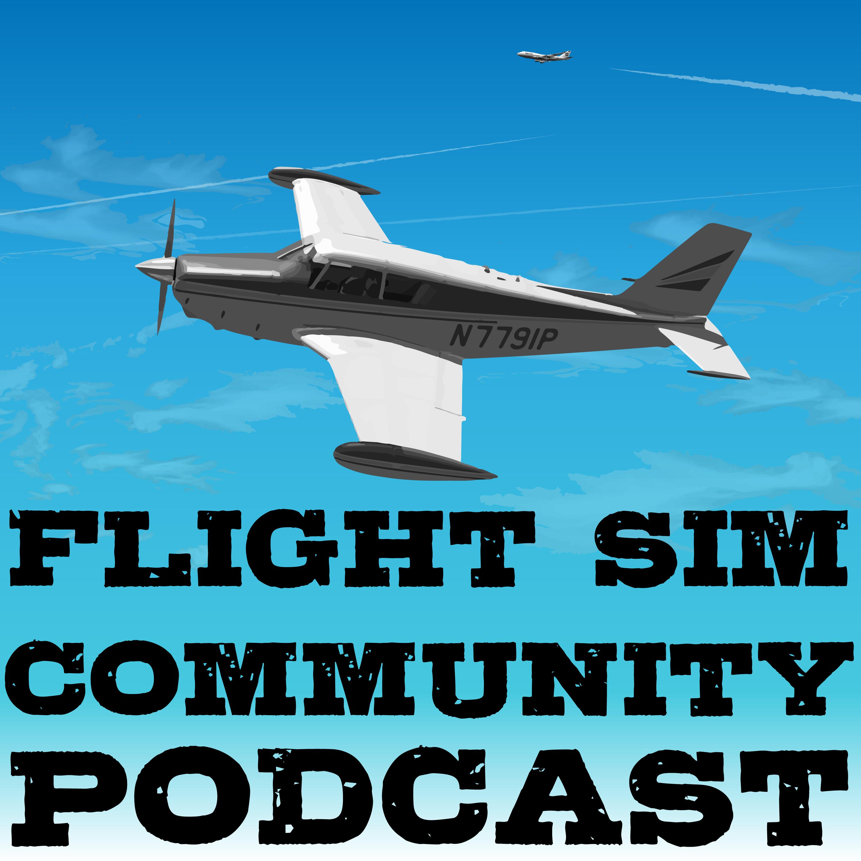 Flightsim Community Podcast show art