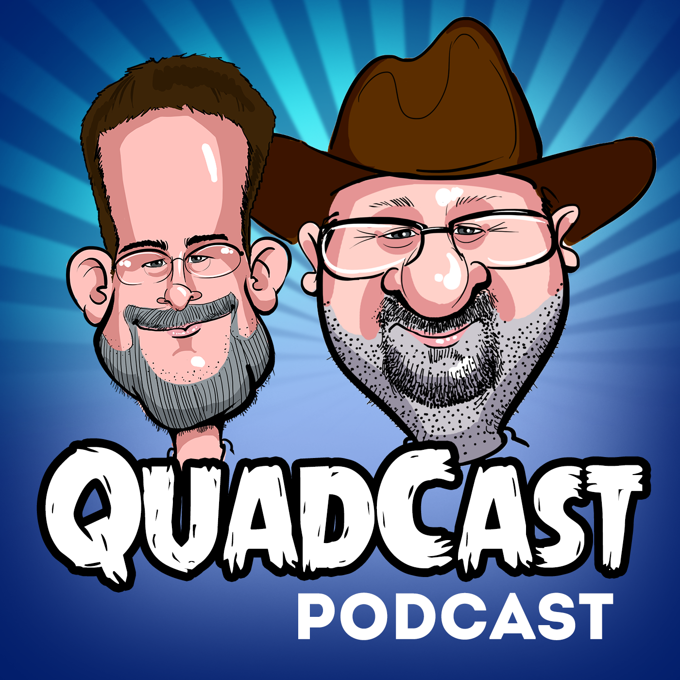 Artwork for QuadCast #35 No Such Thing As Grownups, The Interview, Dead Panda, Screen Addiction