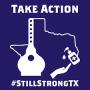 Artwork for #StillStrongTX Initiative with Spencer Whelan