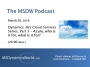 Artwork for MSDW Podcast: Cloud services series, Part 3  – Azure, who is it for, what is it for?