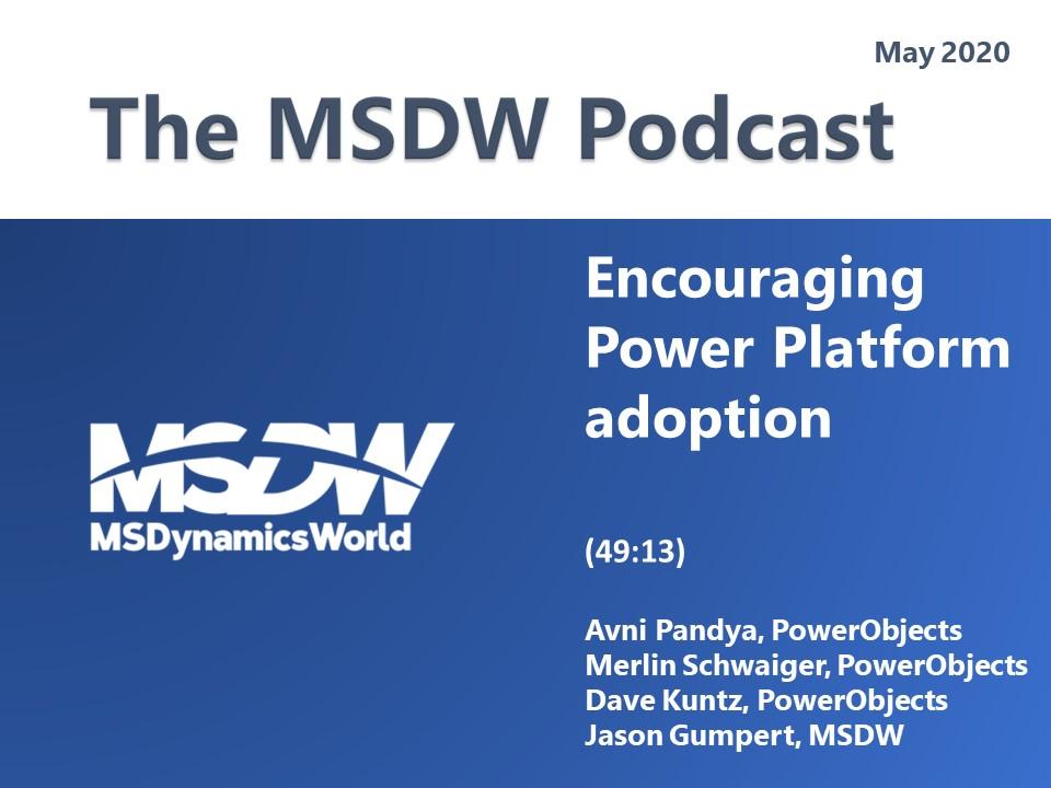 Artwork for Encouraging Power Platform adoption