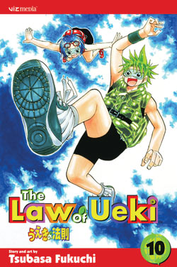 Manga Review: The Law of Ueki Volume 10