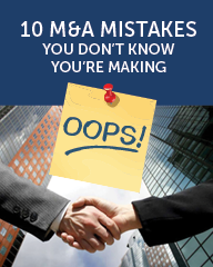 Tech M&A Monthly - 10 Mistakes You Don't Know You're Making (BONUS)