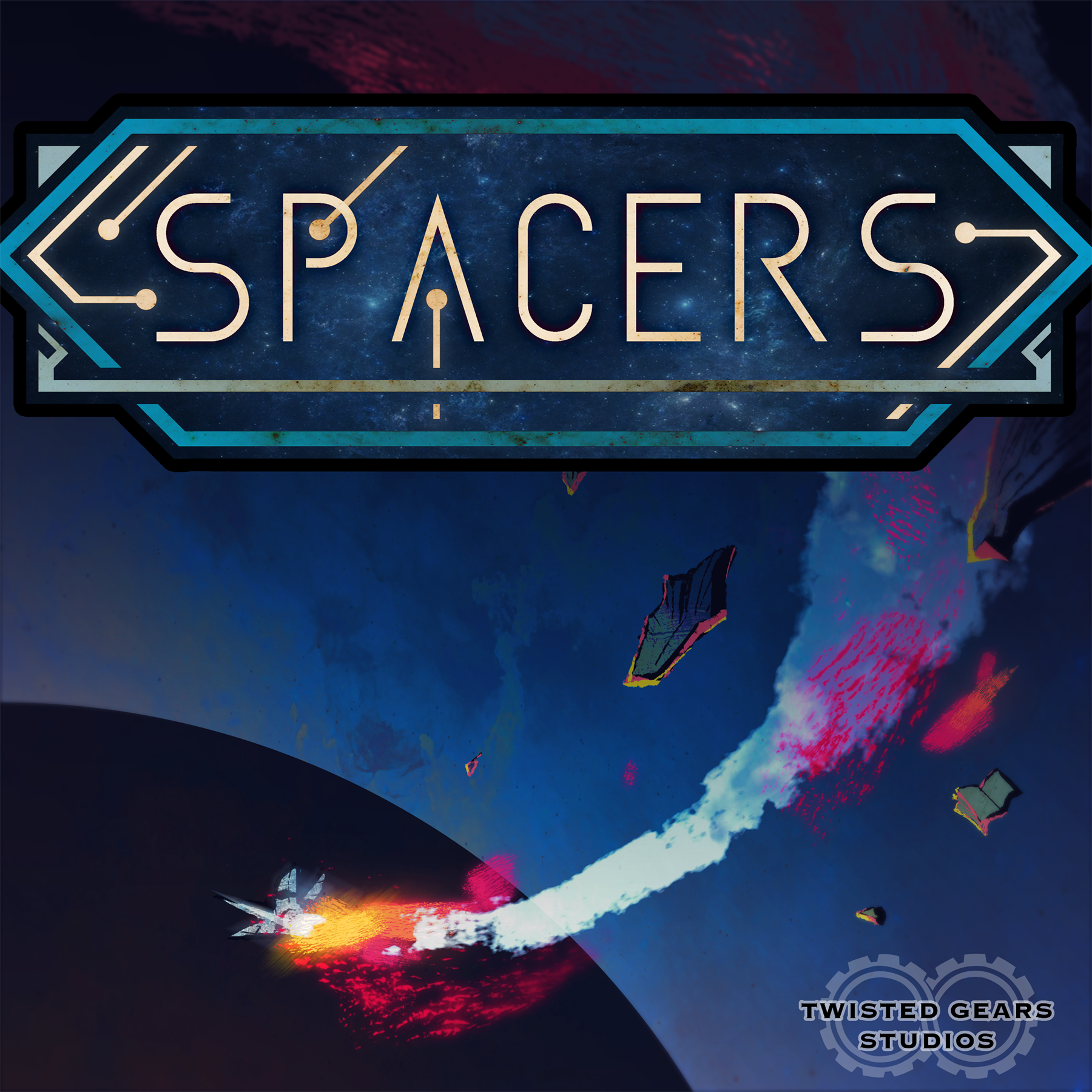 Spacers show art