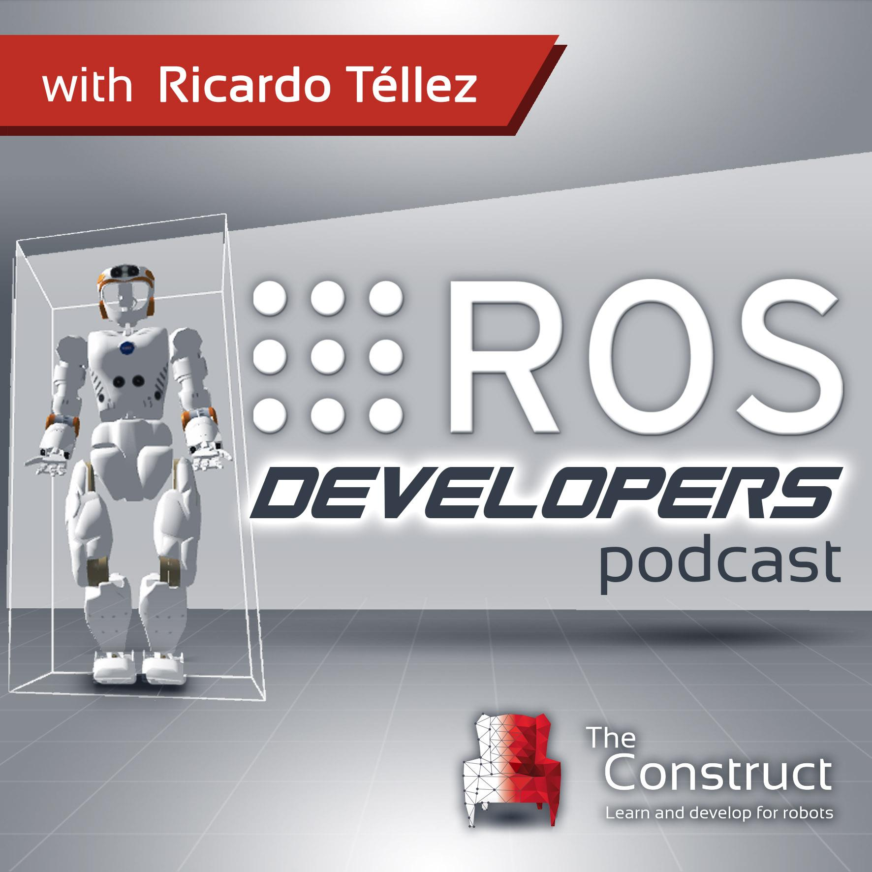 ROS Developers Podcast show art