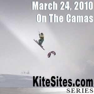 Camas 2010 Snowkiting: March 22, 2010