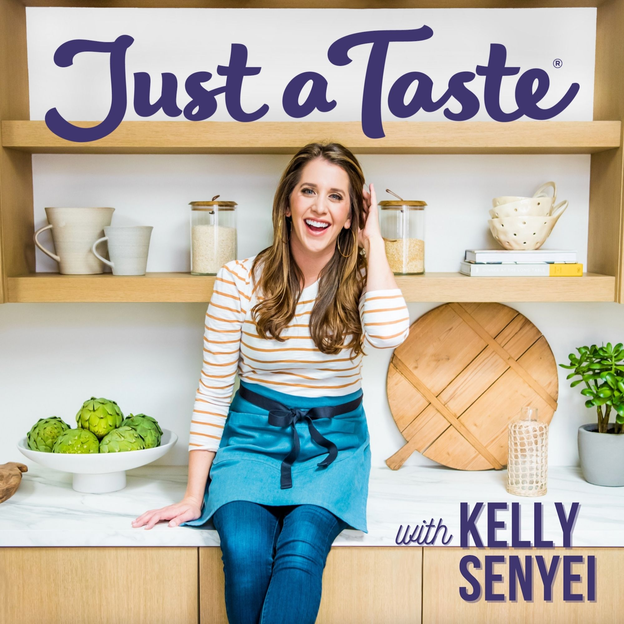 The Just a Taste Podcast with Kelly Senyei show art