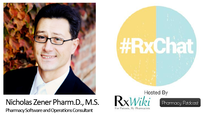 Pharmacy Podcast Episode 147 #RxChat Pharmacy Technology - Past Current & Future