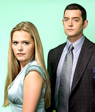 DVD Verdict 612 - PSYCH's Maggie Lawson and Tim Omundson