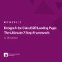 Artwork for EP #11 Design A 1st Class B2B Landing Page: The Ultimate 7 Step Framework w. Oli Gardner