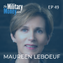 Artwork for Life and Leadership with Brigadier General (R) Maureen LeBoeuf