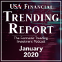 Artwork for January 2020 - USA Financial Trending Report