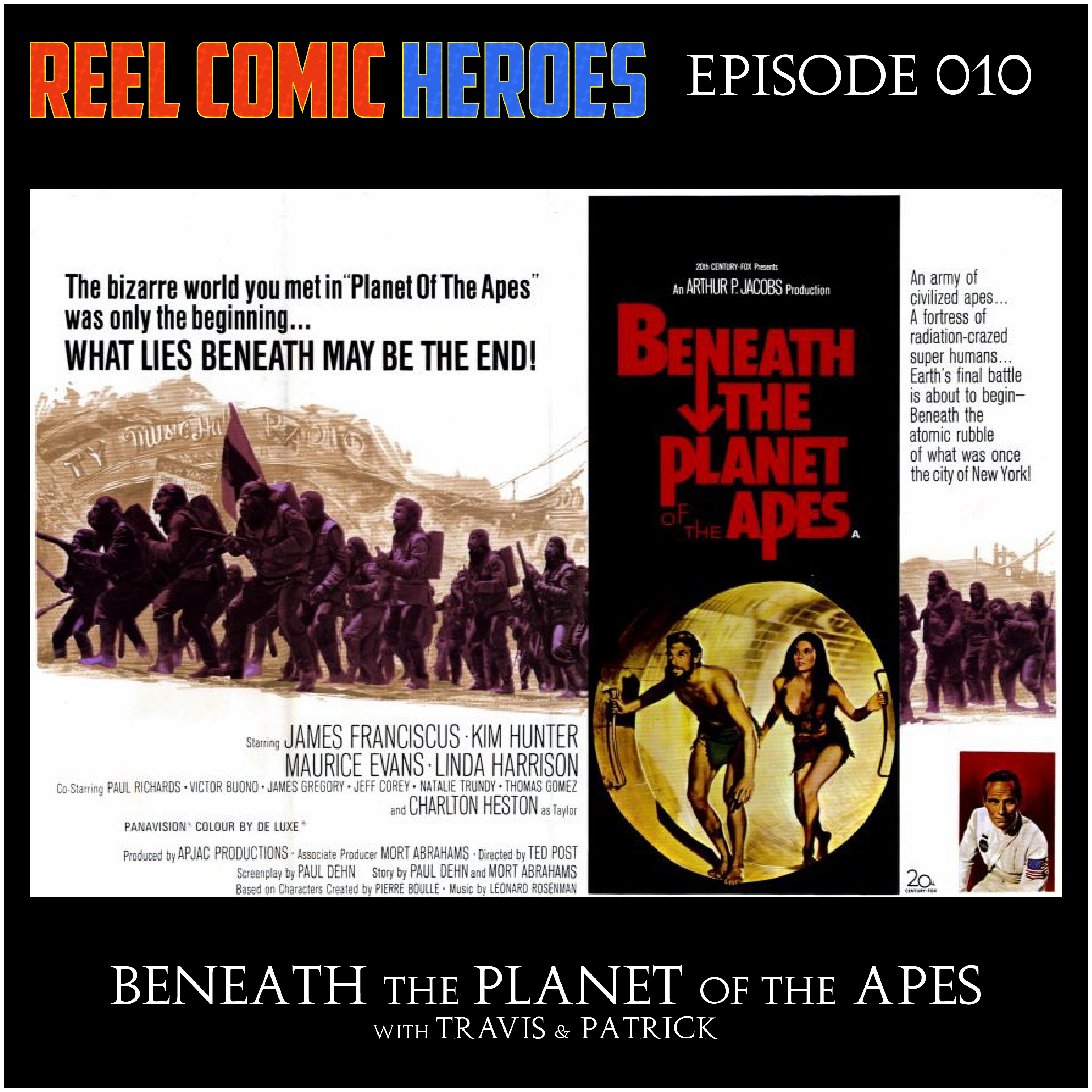 Artwork for Reel Comic Heroes 010 - Beneath the Planet of the Apes
