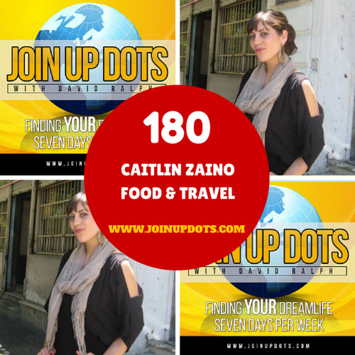 Podcast 180: Caitlin Zaino: An Entrepreneur Lady Who Cooks Up Delights With Her Passion For Food