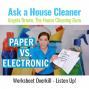 Artwork for Worksheet Overkill - House Cleaners Listen Up!
