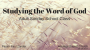 Artwork for Studying The Word of God