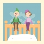 Artwork for Sleep Well With a Bedtime Poem - Storytelling Podcast for Kids -The Plumpuppets: E25