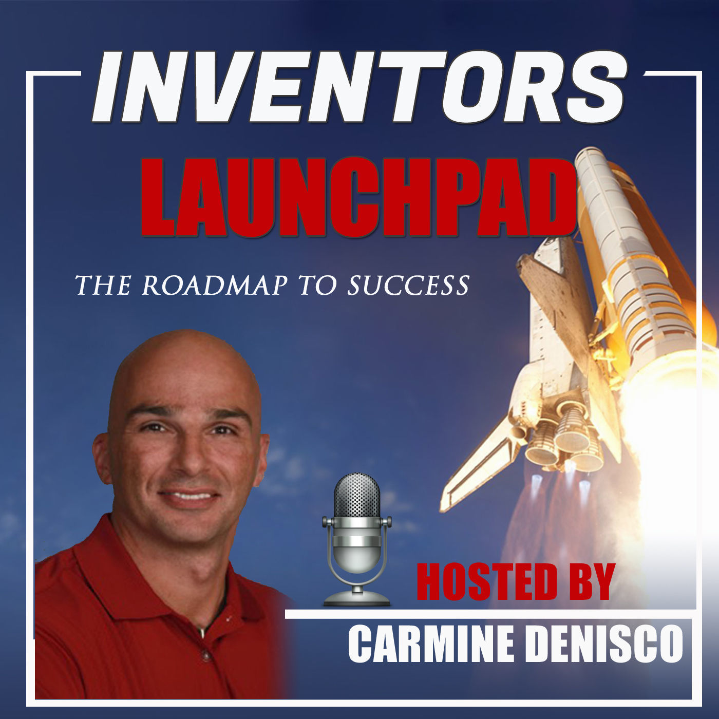 Artwork for S2e29 – Filip Valica, Entrepreneur, Inventor, Product Developer, Consultant, and Podcaster, Showing Inventors the steps to Success.
