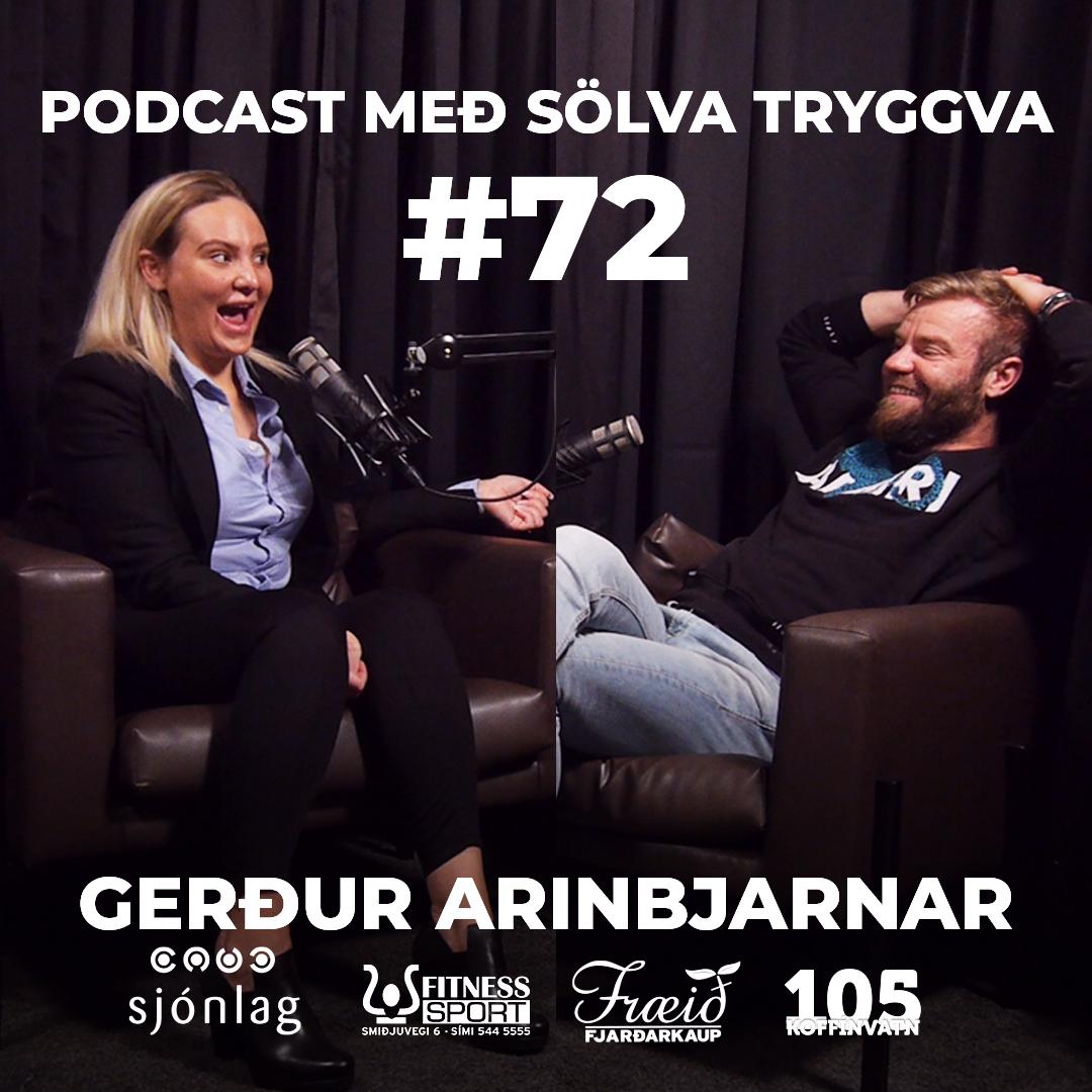 #72 Gerður Arinbjarnar með Sölva Tryggva
