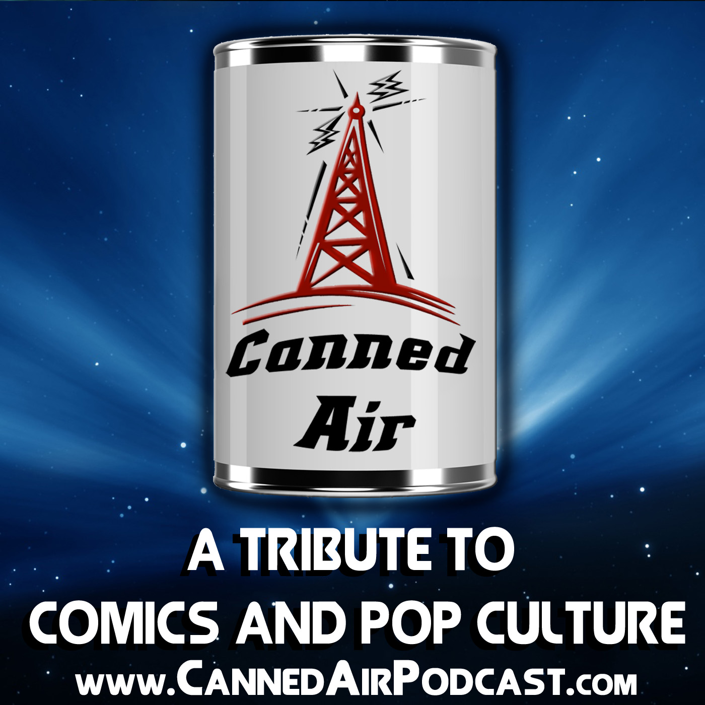 Canned Air: A Tribute to Comics and Pop Culture logo