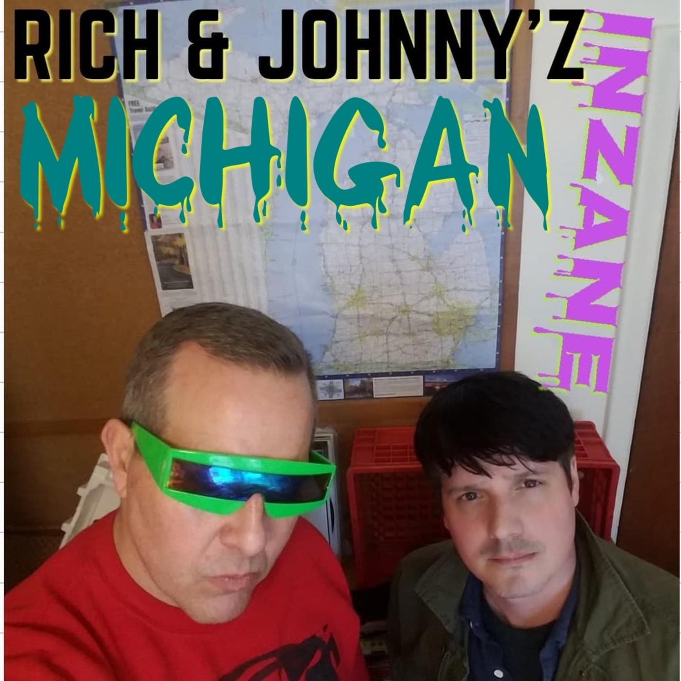 Rich and Johnny's Inzane Michigan show art