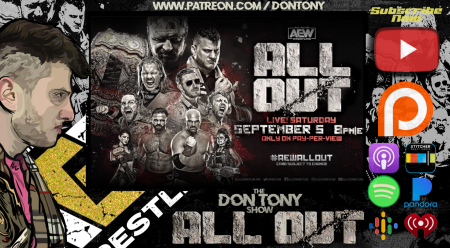 Artwork for AEW All Out PPV Recap + Review 09/05/2020
