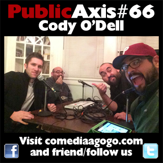 Public Axis #66: Cody O'Dell