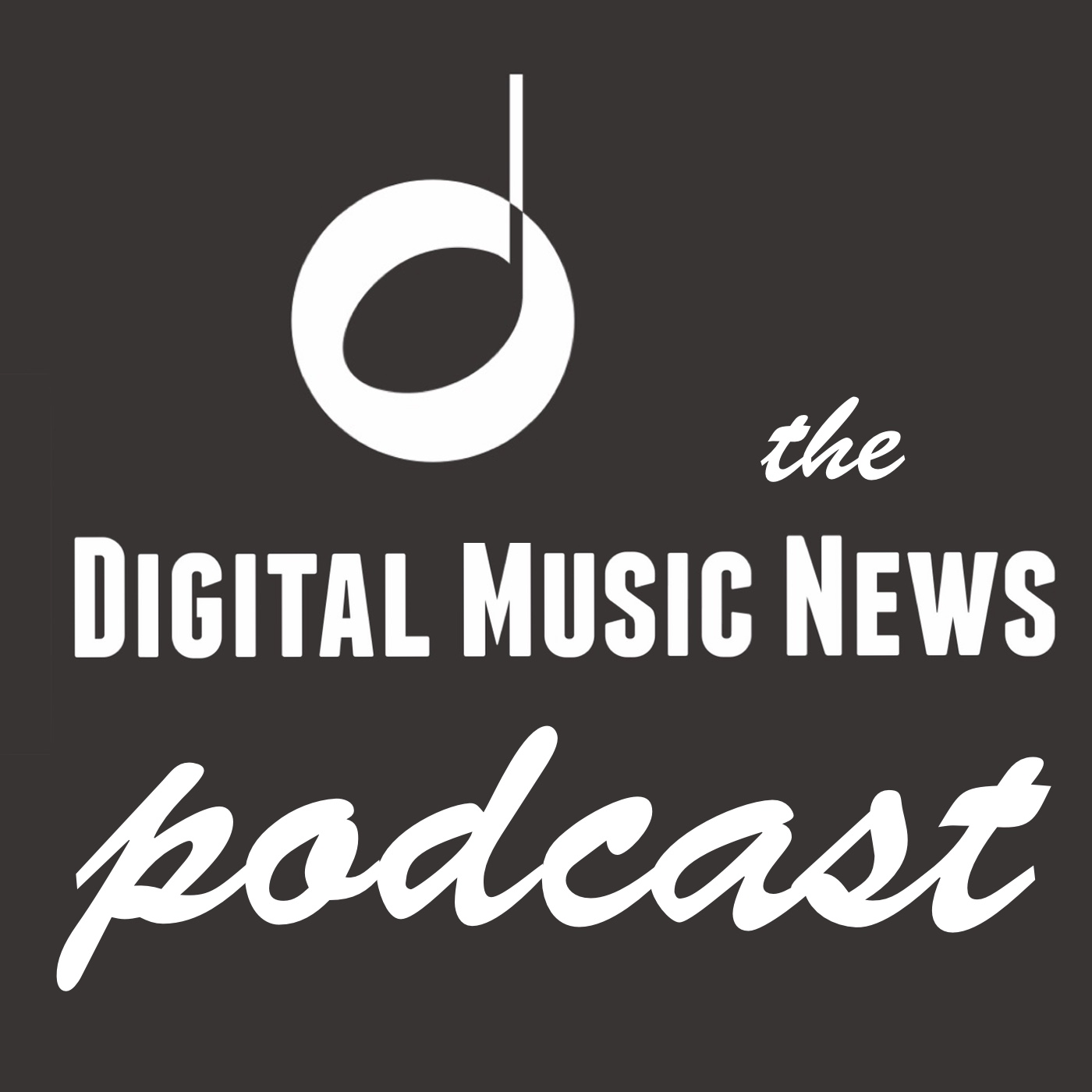 The Digital Music News Podcast show art