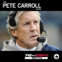 Artwork for Pete Carroll reviews the Seahawks' playoff loss to Carolina