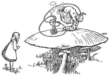 Alice's Adventures in Wonderland - Chapter 5 - Advice from a Caterpillar