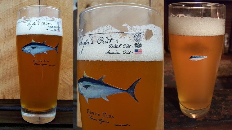 Bluefin Tuna Angler's Pint