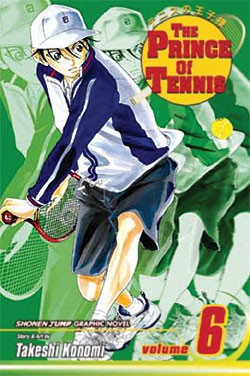 Manga Review: The Prince of Tennis Volume 6