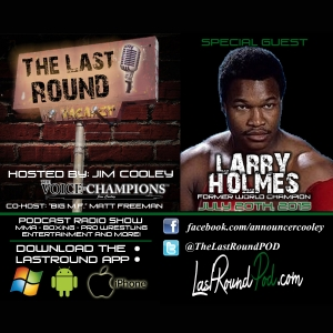 TLR #13 Larry Holmes - Former World Champion