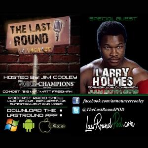 TLR #13 Larry Holmes - Former World Champion