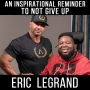 Artwork for NEVER GIVE UP! - with Eric Legrand