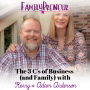Artwork for The 3 C's of Business (and Family) with Kerry and Adam Anderson