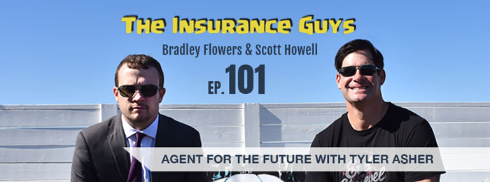 Tyler Asher on The Insurance Guys Podcast