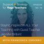 Artwork for 18:  Staying Inspired in ALL Your Teaching with Guest Teacher Jennifer Brilliant