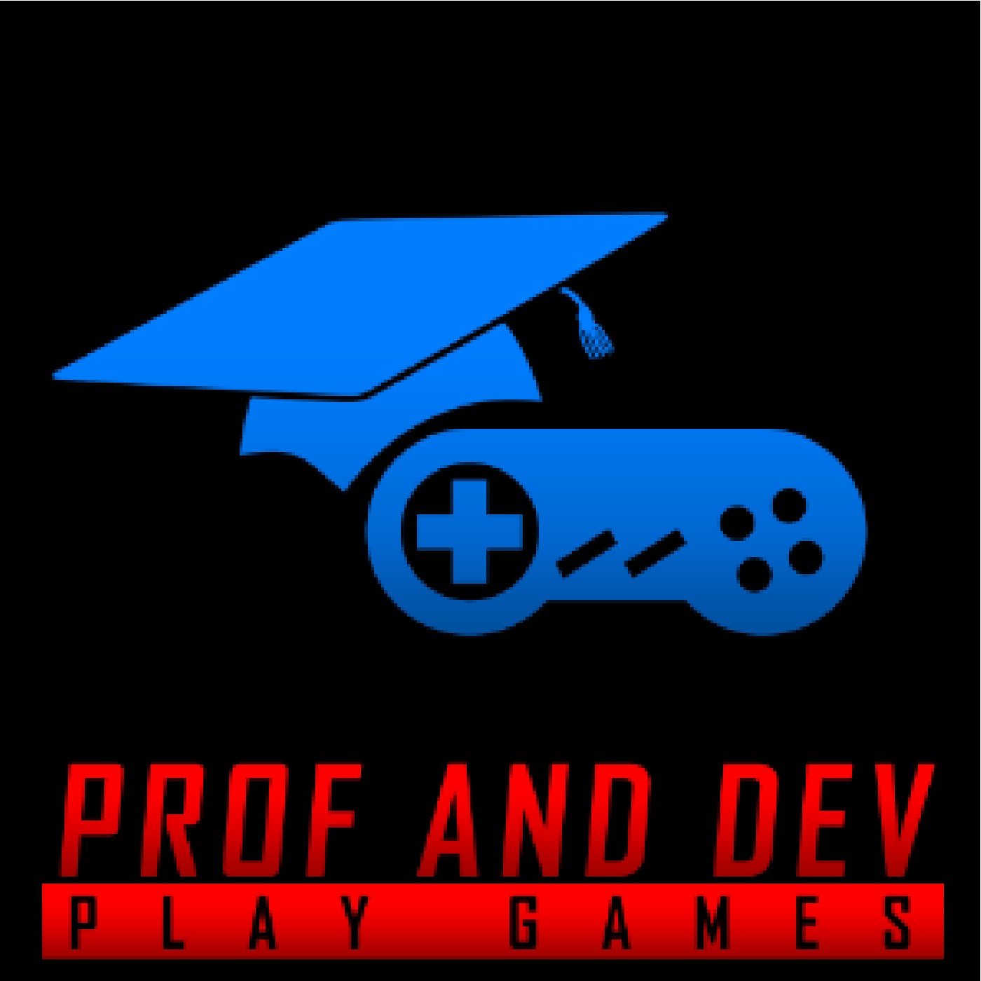 Prof and Dev Play Games show art