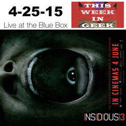 This Week in Geek 4-25-15 Live at the Blue Box