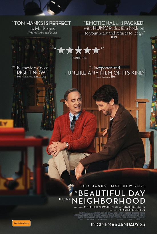 A Beautiful Day in the Neighborhood Tom Hanks and Matthew Rhys