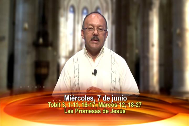 Artwork for Miércoles, 7 de junio de 2017 Tema de hoy: Las Promesas de Jesus