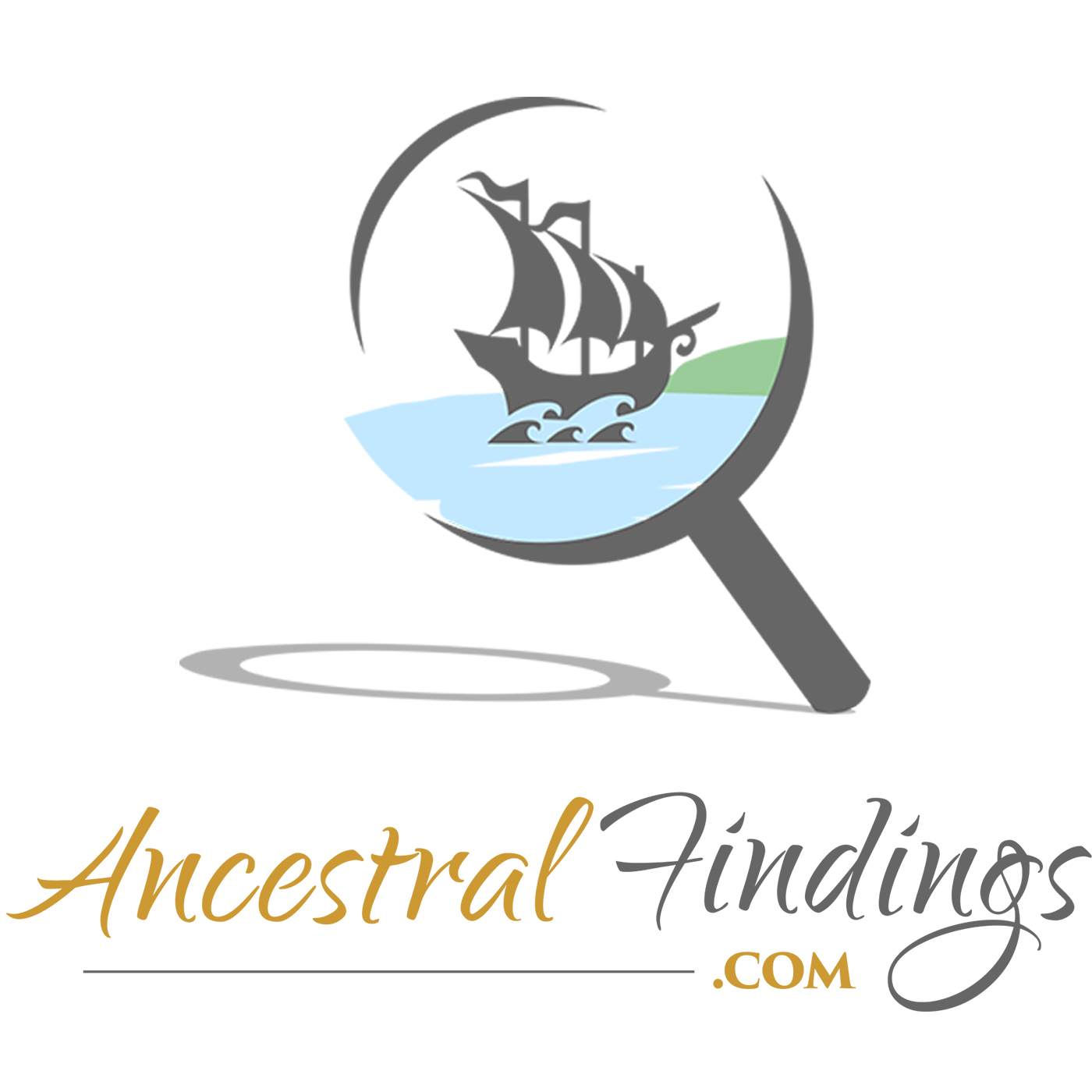 Ancestral Findings - Genealogy Podcast show art