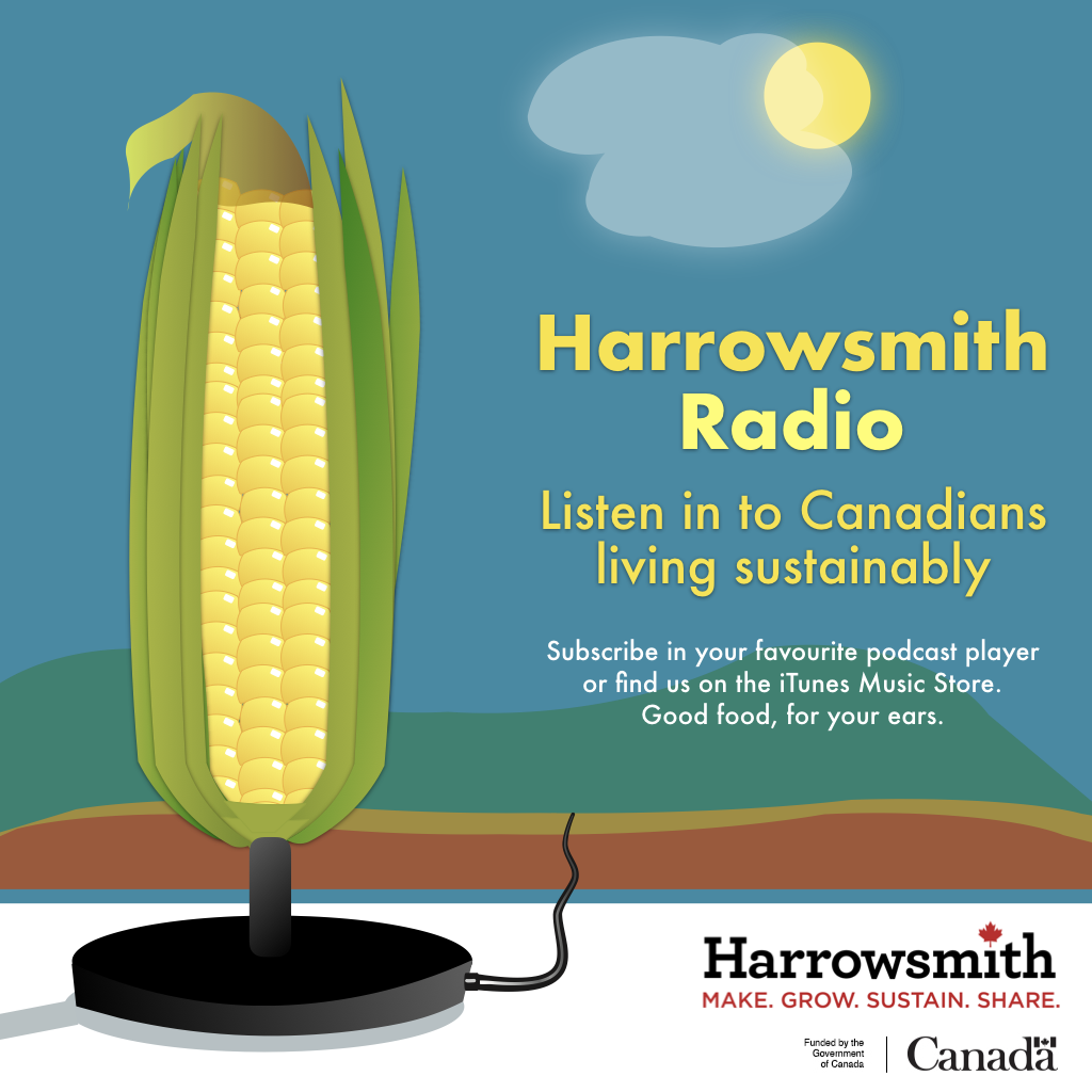 Harrowsmith Radio show art