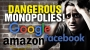 Artwork for Google, Facebook, Amazon all DANGEROUS MONOPOLIES
