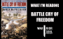 Artwork for What I'm Reading   Battle Cry of Freedom
