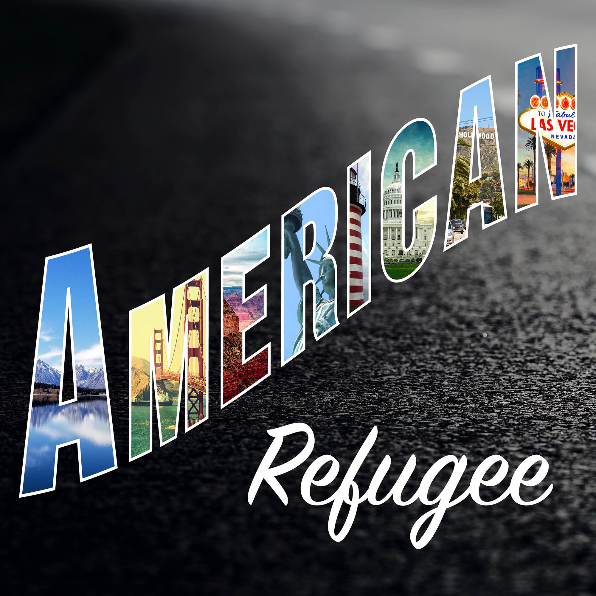 American Refugee show art