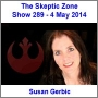 Artwork for The Skeptic Zone #289 - 4.May.2014